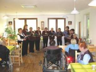 Domov pro seniory v Luhu u Milína, jaro 2013